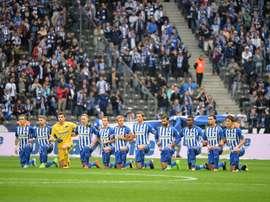 El Hertha dará acceso gratuito a sus fans más jóvenes. witter/HerthaBerlin