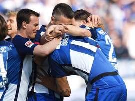 El Hertha se impuso al Augsburgo por 2-0 con los goles de Brooks y Stocker. HerthaBSC
