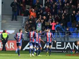 El Huesca sueña con el ascenso. LaLiga