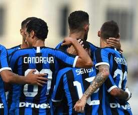 Conte commence la saison par une petite victoire. Twitter/Inter