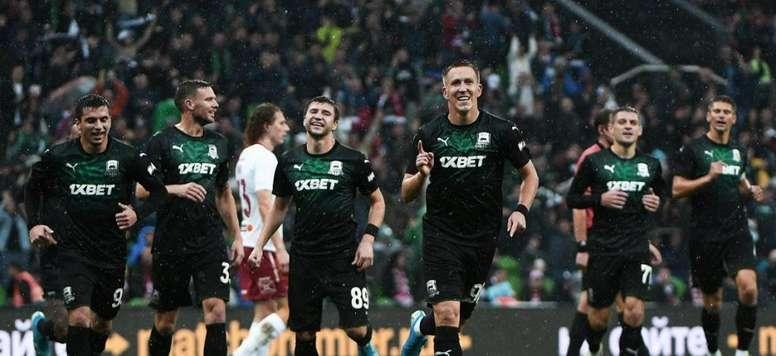 El Krasnodar se repone a la vía sueca. FCKrasnodar