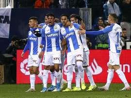 El Leganés llegó a ponerse 3-0 y acabó sufriendo ante el Celta. EFE
