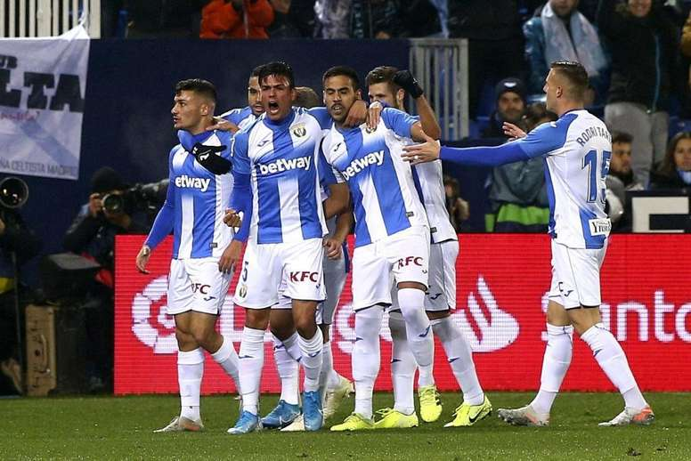 El Leganés, perjudicado por la Copa de cara a su duelo ante la Real. EFE/Rodrigo Jiménez