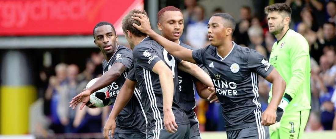 Leicester s'abonne aux victoires. LCFC