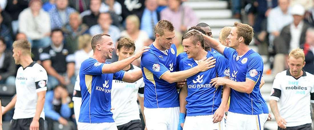 Derby y Leicester empataron y deberán volver a verse las caras para decidir la eliminatoria. LCFC