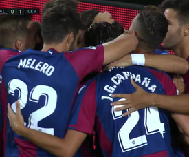 Morales scored for Levante. Screenshot/MovistarLaLiga