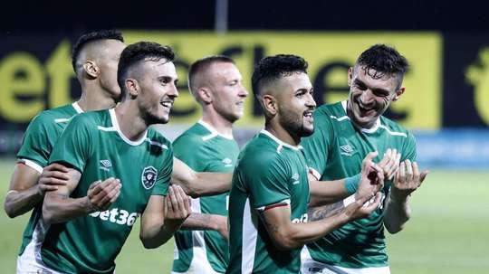El Ludogorets ganó su séptima Liga consecutiva. Ludogorets