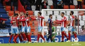 El Lugo tuvo que ganar dos veces al Huesca. LaLiga