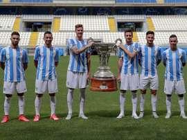 El Málaga jugará dos importantes partidos este fin de semana. MálagaCF