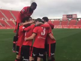 El Mallorca logró sacar un empate ante el Formentera en el último minuto. RCDMallorca