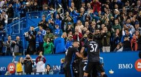 El Montreal Impact remontó el partido para llevarse los tres puntos. Twitter/impactmontreal