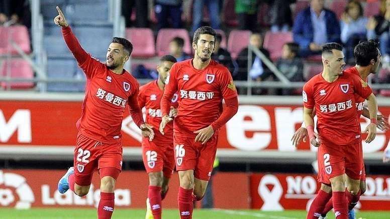 El Numancia se enfrenta al Sporting de Gijón. LaLiga