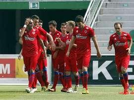 El Numancia venció por 1-0 al Tudelano. Laliga