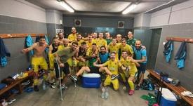 De cara al duelo ante el Andorra. Twitter/Orihuela_CF