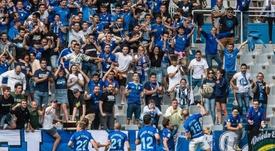 El Oviedo promociona la venta de entradas para el derbi. LaLiga