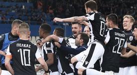 El PAOK conquista la Copa y suma un doblete histórico. Twitter/PAOK