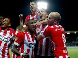 El PSV venció en el último minuto. PSV
