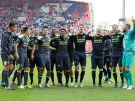 Los de Cocu golearon a domicilio. PSV