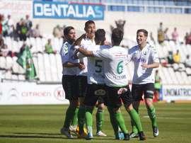 El Racing goleó al Caudal Deportivo. RealRacingClub