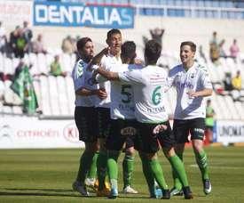 El Racing venció al Logroñés por 2-1. RealRacingClub