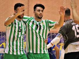 El Real Betis Futsal se llevó la victoria de forma contundente. RealBetisFutsal
