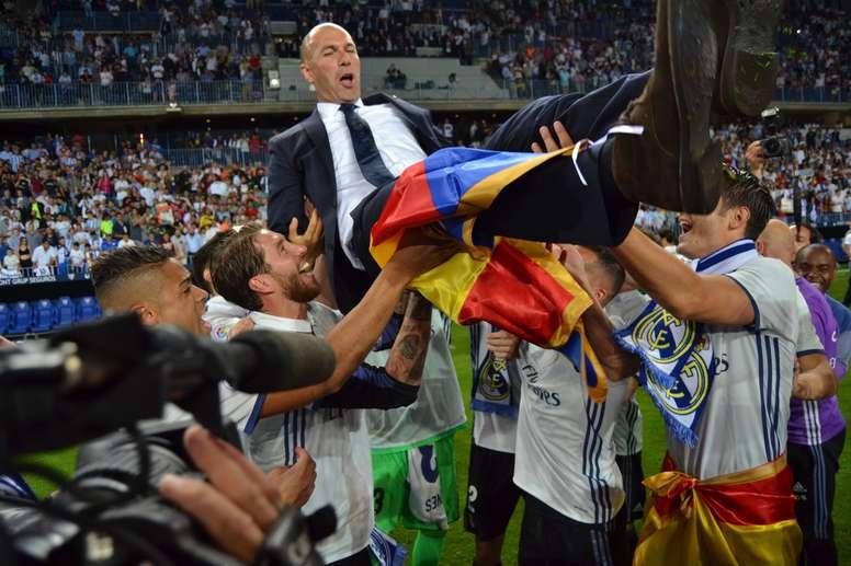 Zidane ya cuenta con un título de Liga como entrenador. BeSoccer