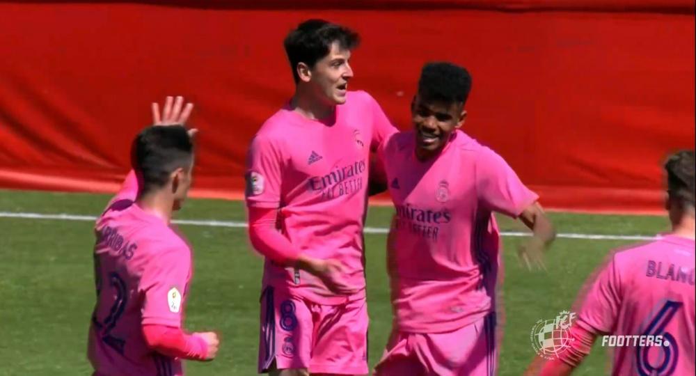 El Real Madrid Castilla-Barça B se jugará el 17 de octubre. Captura/Footters