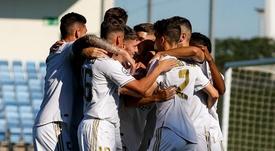 El Castilla evitó el descalabro en el Matapiñonera. RealMadridCastilla