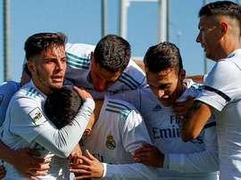 El Castilla sumó un importante triunfo. RealMadrid