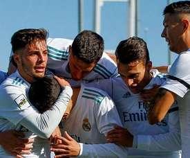 El Castilla doblegó al Racing de Ferrol con claridad en casa. RealMadrid