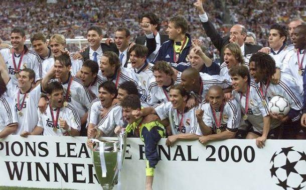 Adidas homenajeará al Madrid campeón de la Champions del año 2000. EFE/Archivo