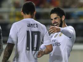 Dois meias e apenas uma vaga no time de Zidane. AFP
