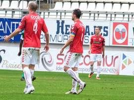 El filial de Real Murcia refuerza su ataque. RealMurciaCFSAD