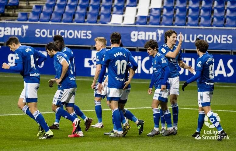 El Oviedo quedó eliminado de la Copa a manos del Málaga. LaLiga