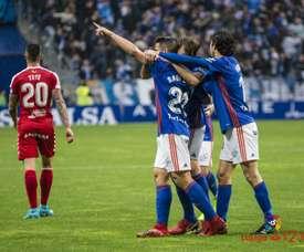 Berjón confía en que el Oviedo firme un gran partido ante el Sporting. LaLiga
