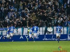 El conjunto asturiano, fortalecido tras la última victoria ante Osasuna. LaLiga