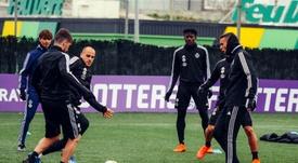 El Valladolid descansa este lunes. RealValladolid