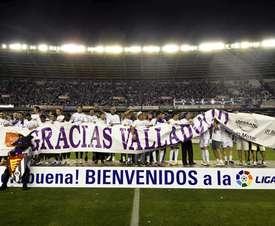 Hace exactamente seis años el Valladolid lograba su último ascenso a Primera. EFE/Archivo