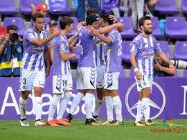 El Valladolid se enfrenta al Cádiz la próxima jornada. LaLiga