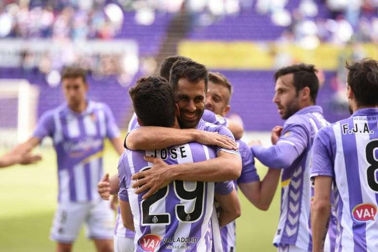 El Valladolid ha pasado por encima del modesto Ejido. RealValladolid