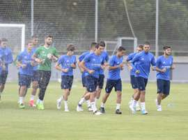 El lateral no pudo jugar frente al Almería. LaLiga