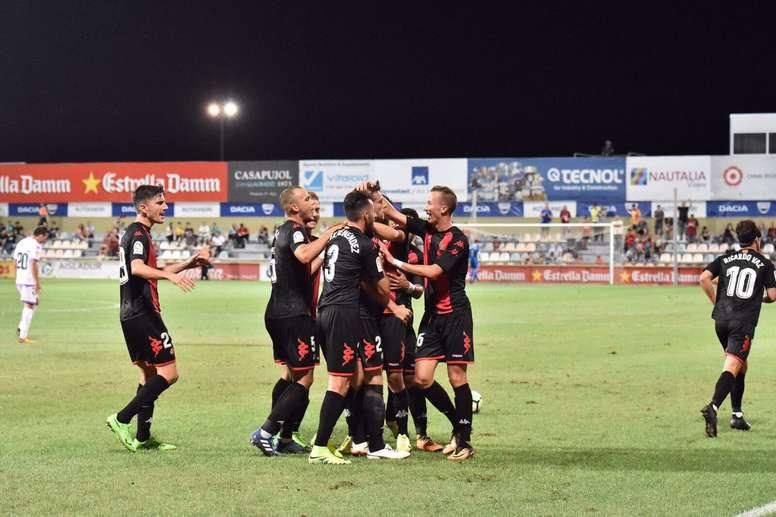 El Reus se llevó la victoria. CFReus
