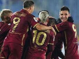 Los goles de Jonathas y Kambolov dieron la victoria al conjunto dirigido por Javi Gracia. RubinKazan