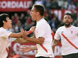 El Sevilla Atlético consiguió su primera victoria de la temporada. SevillaFC