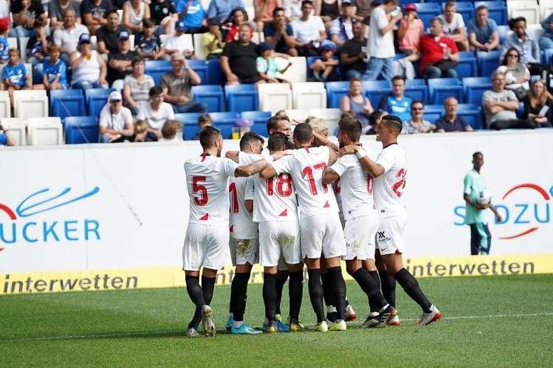 El Sevilla FC podría dar salida a siete jugadores más. SevillaFC