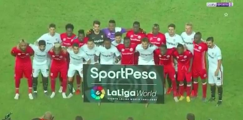 Fin de temporada para el Sevilla. EFE