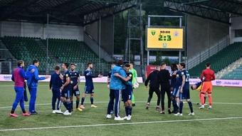 El Slovan Bratislava se define como el equipo que ganó la Recopa al Barça en el 1969. SKSLovan