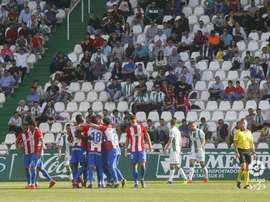 El Sporting se llevó tres puntos de oro de Córdoba. LaLiga