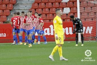 El Sporting no pudo con el filial de la Real Sociedad. LaLiga