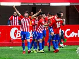 Barba ve al Sporting preparado. Twitter/RealSporting